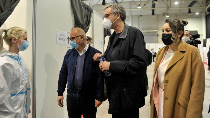 Čadež: Na spisku za vakcinaciju u Beogradu i Nišu 7.500 privrednika iz regiona 4