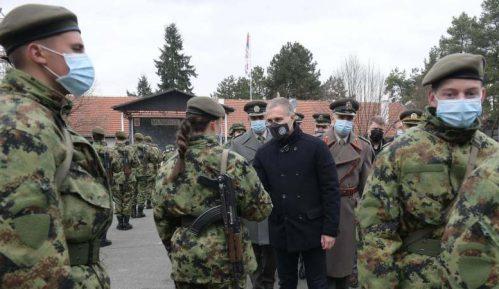 Stefanović na zakletvi vojnika 2