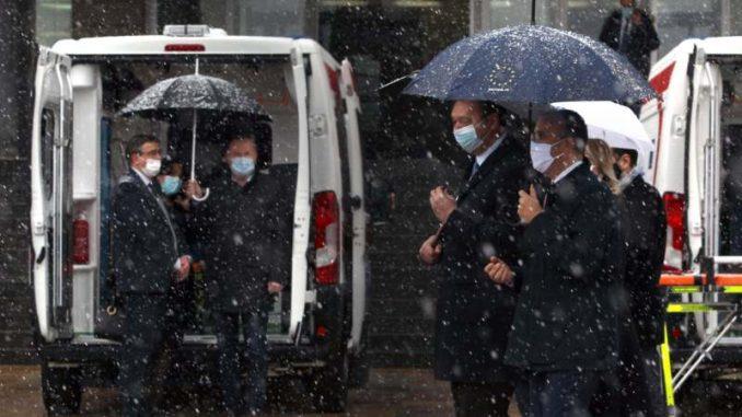 Zdravstvenom sistemu predato 20 sanitetskih vozila kao deo solidarnosti EU 4