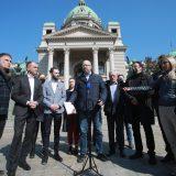 Predstavnici opozicije predali Skupštini platformu za poboljšanje izbornih uslova 13