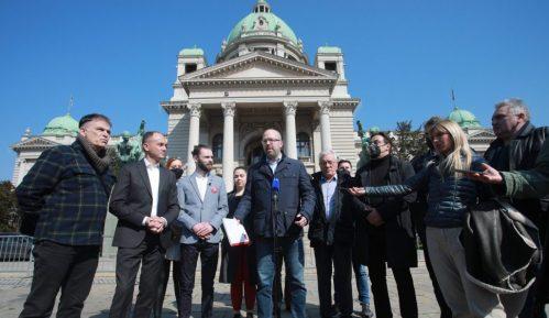Predstavnici opozicije predali Skupštini platformu za poboljšanje izbornih uslova 1