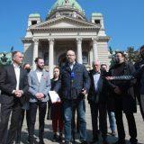 Predstavnici opozicije predali Skupštini platformu za poboljšanje izbornih uslova 12