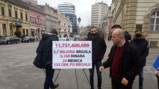 Novaković: Za očitavanje brojila 100 miliona evra 6