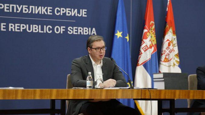 Vučić: Nisam video non pejper, zalažem se za postojeće granice 2