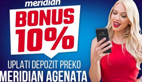 Može i od kuće – Pozovi Meridian agenta i osvoji 10% bonusa 10