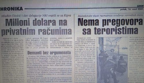 Mlađan Dinkić pre 20 godina došao do para na Kipru 1