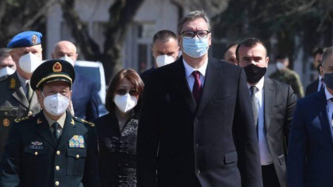 Vučić sa kineskim ministrom o vojnoj saradnji 3