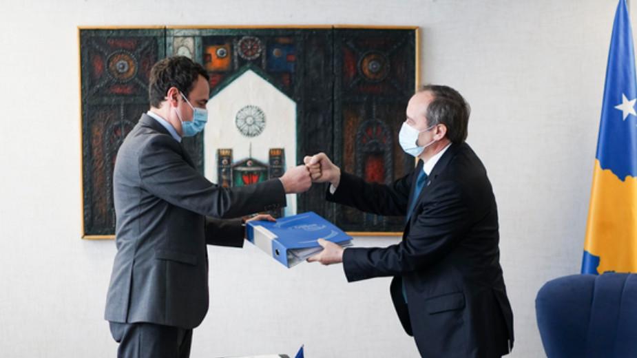 Kurti primio dužnost premijera Kosova 1