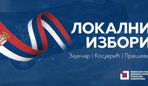 Otvoreni telefoni za proveru upisa u izvodima iz JBS za lokalne izbore u Zaječaru, Kosjeriću i Preševu 13