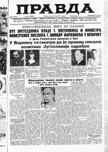 """Kako je Jugoslavija Trojnim paktom pokušala da """"sačuva mir"""" 3"""