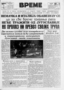 """Kako je Jugoslavija Trojnim paktom pokušala da """"sačuva mir"""" 2"""
