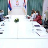 Gojković se sastala sa predstavnicima novinskih udruženja 3