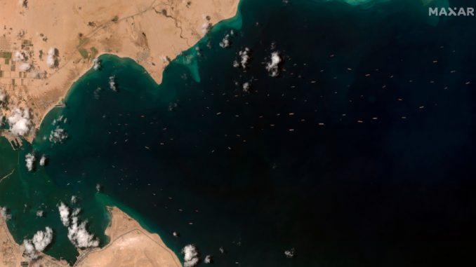 Kraj velike gužve na Sueckom kanalu 5
