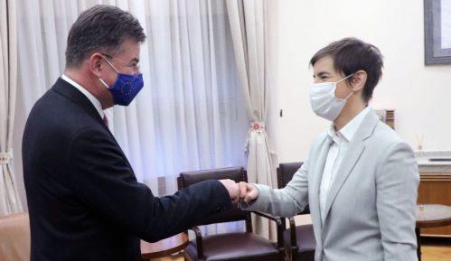 Lajčak i Brnabić razgovarali o sprovođenju obaveza dogovorenih u dijalogu Beograda i Prištine 5
