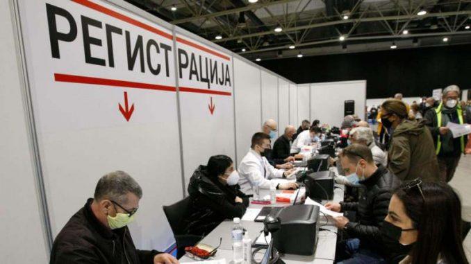 Vesić: Na Sajmu vakcinisano danas skoro 6.500 građana među kojima su i stranci 5