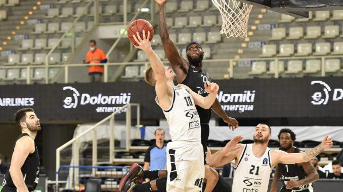 Partizan izgubio od Trenta, ugrozio plasman u četvrtfinale 4