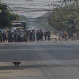 Policija Mjanmara sprovodi racije u Jangonu 6