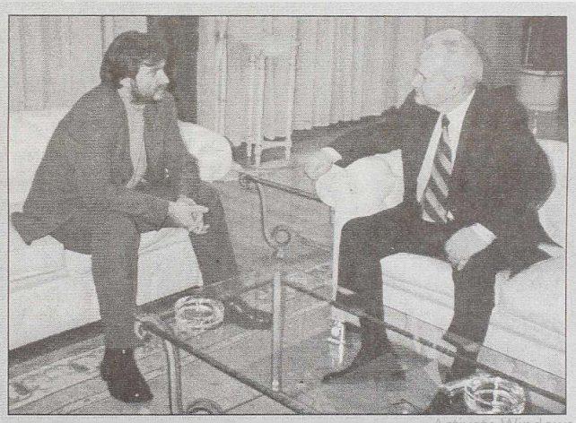 Poslednji intervju Slobodana Miloševića pre hapšenja za izraelski Haarec i Danas 3