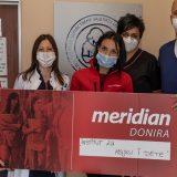 Uvek tu u važnim tenucima: Meridian ponovo na terenu, donacija Institutu za majku i dete 4