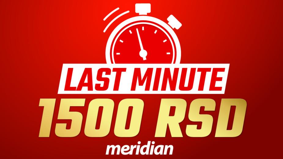 Dobitni tiket kako god okreneš - Preuzmi 1.500 dinara na poklon 1