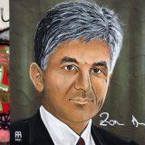 DS: Uništen mural Zoranu Đinđiću u Beogradu 12 sati od njegovog obnavljanja 8