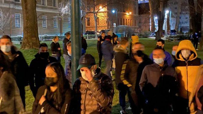 Protest zbog najavljenog zatvaranja Sarajeva za vikend, ugostitelji traže finasijsku pomoć 3