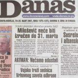 Poslednji intervju Slobodana Miloševića pre hapšenja za izraelski Haarec i Danas 10