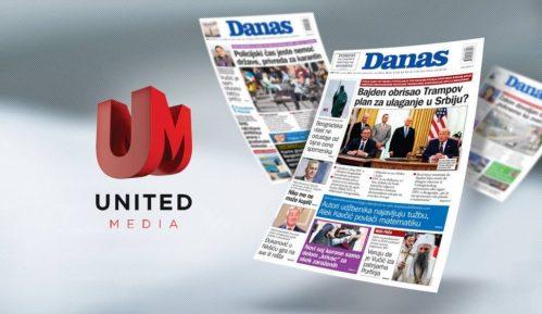 United Media preuzela list Danas 8