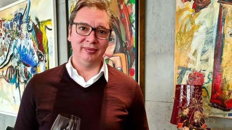 Vučić se izvinio vinarima u Istri (VIDEO) 1