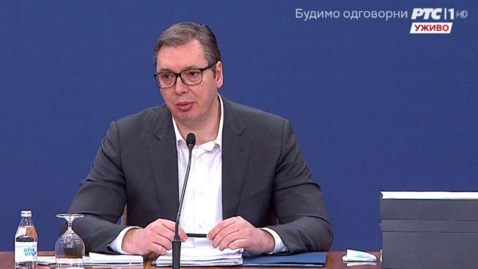 CRTA: Vučić se u martu 29 puta obraćao uživo građanima putem medija 1