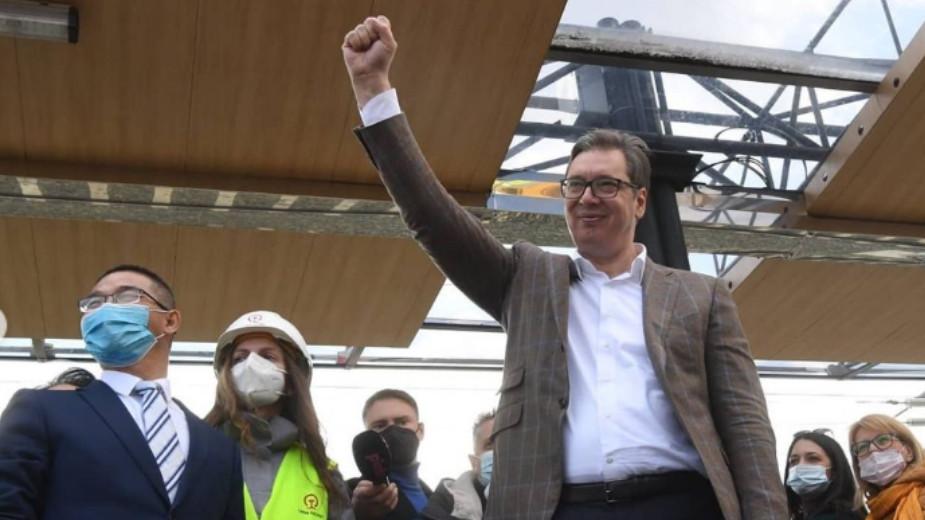 Vučić: Prosečna plata 555 evra, postali smo zemlja pobednika (VIDEO) 1