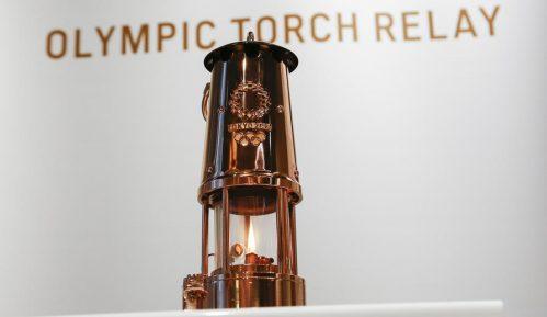 Svečanost polaska olimpijskog plamena na put po Japanu bez publike 7