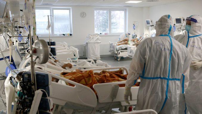 Direktor KBC Dragiša Mišović: Od 12. marta zbrinuli smo više od 6.800 kovid pacijenata 5