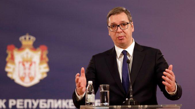 Vučić: Nisam video Janšin dokument 6