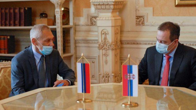 Dačić i Harčenko: Pandemija nije negativno uticala sa saradnju Srbije i Rusije 5