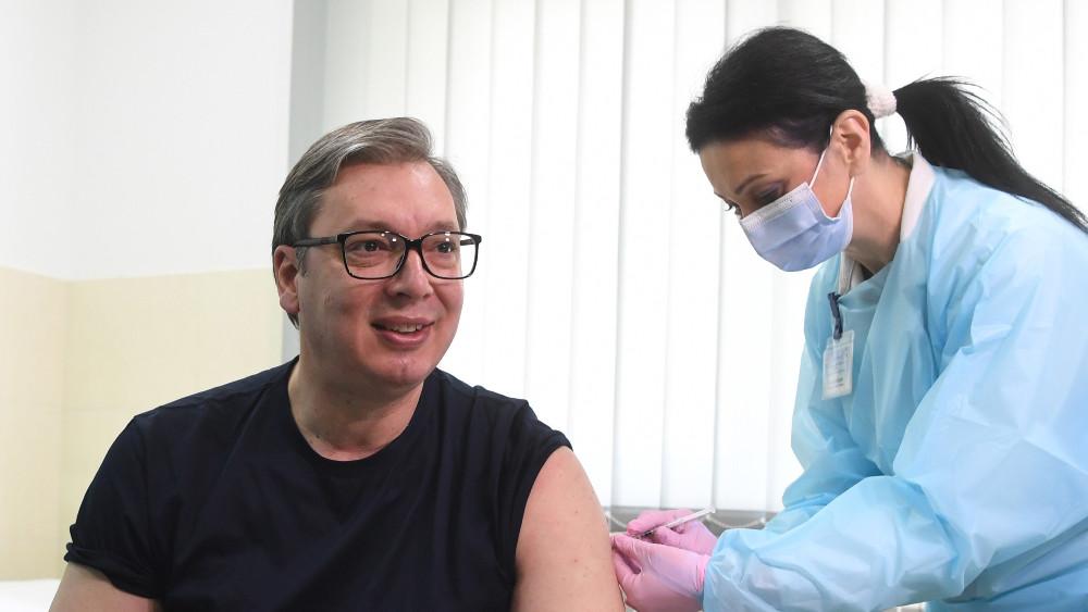 Vučićeva revakcinacija u Doljevcu - saniranje štete 1
