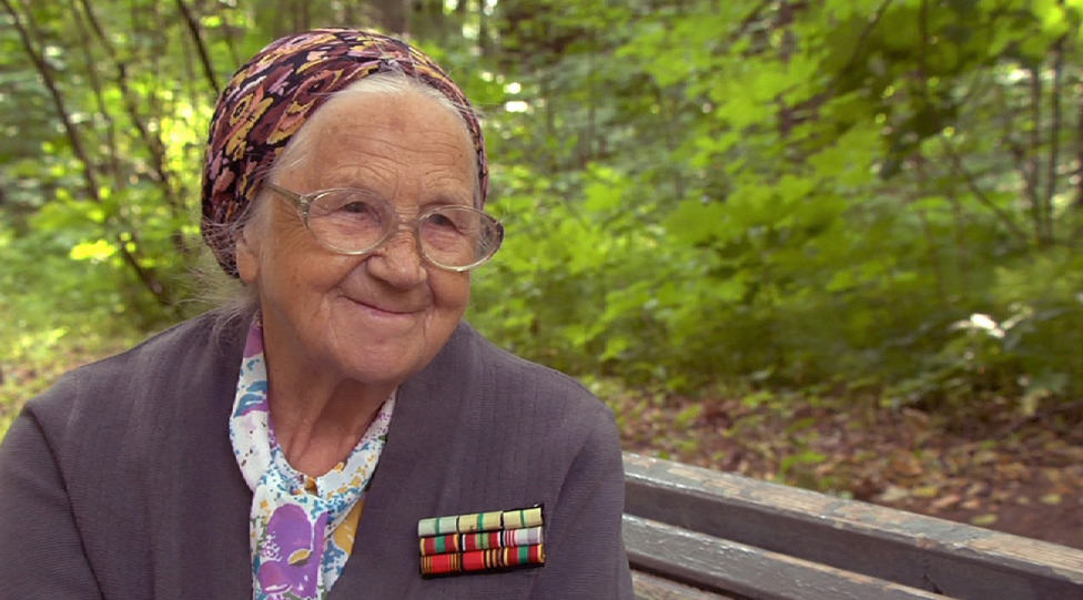 Nina Ivanovna Dmitrieva. The letter writer who survived the bombing of Leningrad and had three subsequent brain surgeries.