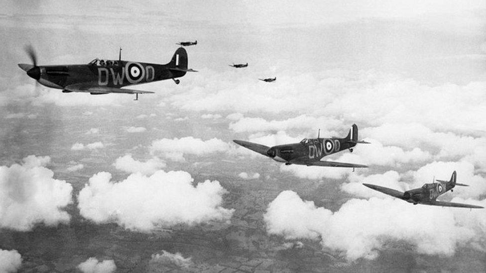 Spitfires in World war Two