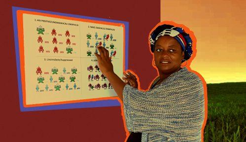 """Afrika i sida: Žena sa HIV-om koja pomaže drugima da imaju """"dobru smrt"""" 12"""
