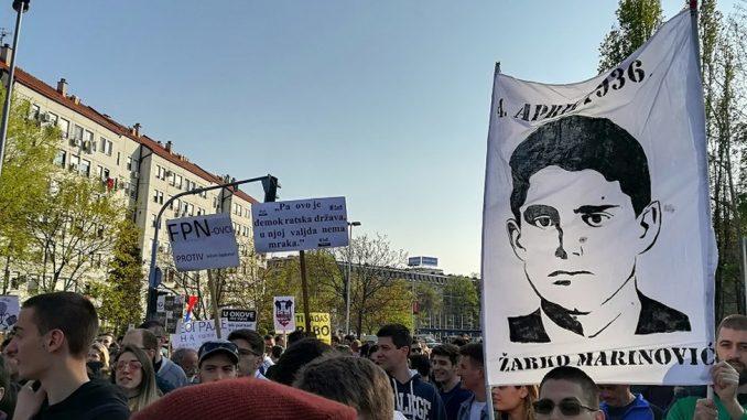 """Dan studenata i Žarko Marinović: Kako je """"žrtva studentske solidarnosti"""" postao simbol njihove borbe 3"""
