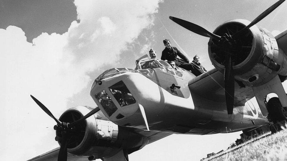 Model aviona Bristol Blenhajm koji je koristila avijacija Kraljevine Jugoslavije