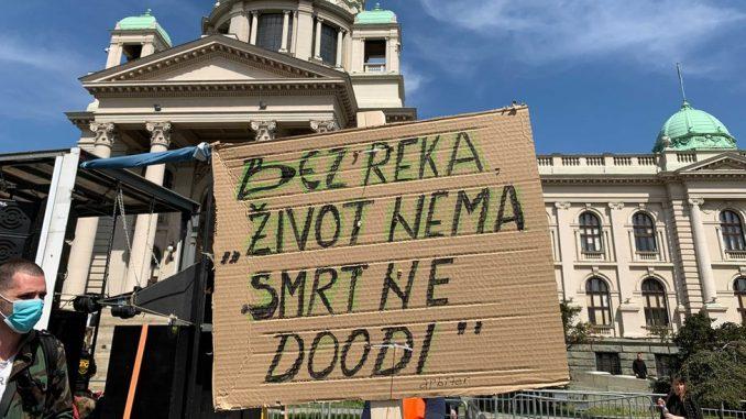 """Životna sredina i protesti u Srbiji: """"Počeo je ekološki ustanak - bez vode nema slobode"""" 4"""
