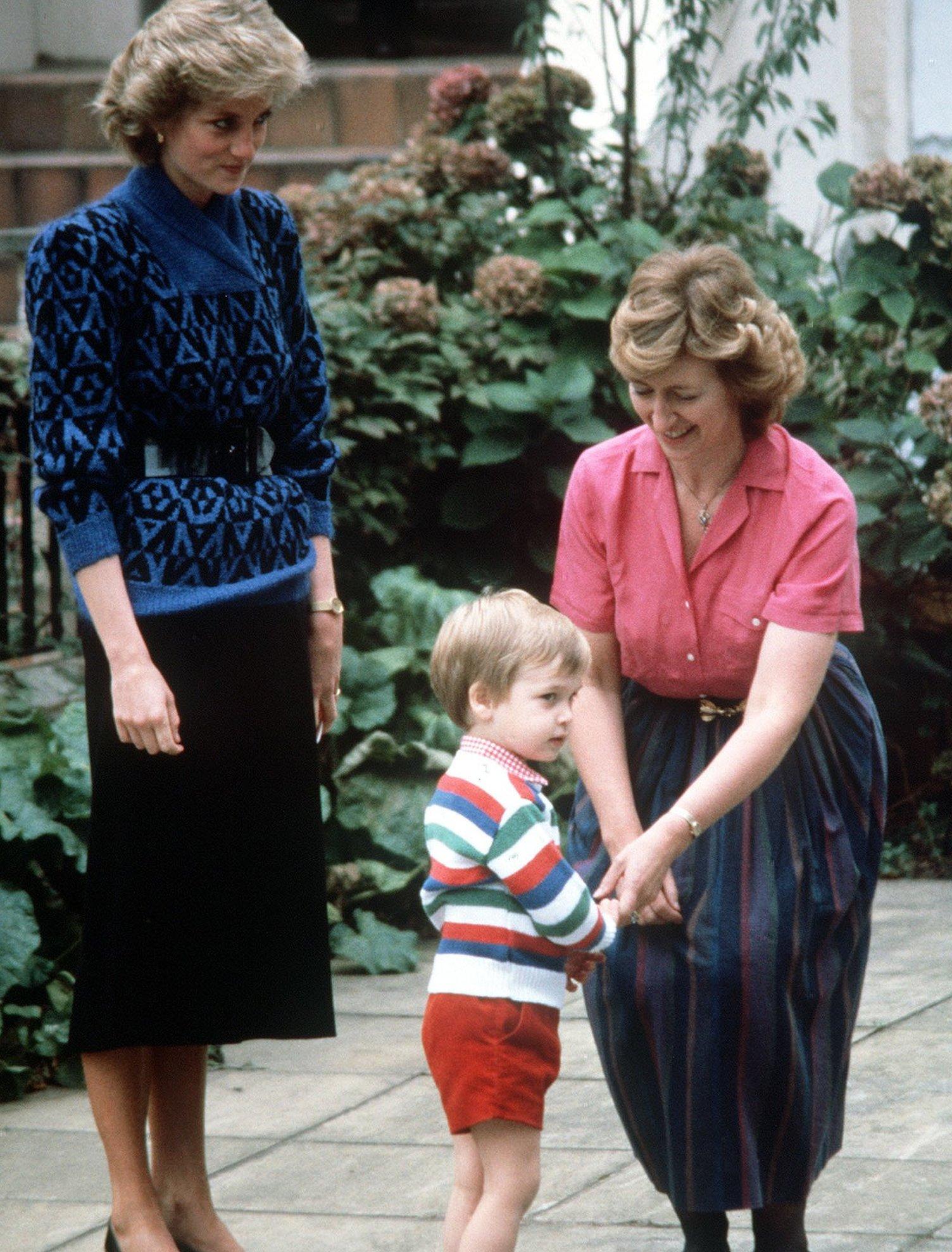 mali princ Vilijam prvog dana vrtića