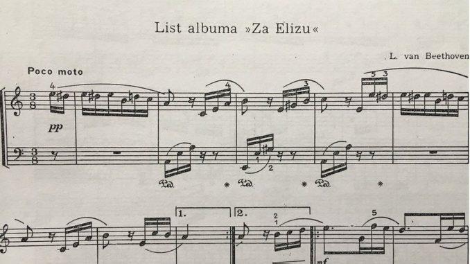 """Muzika i misterije: Kome je Betoven posvetio """"Za Elizu"""" 3"""