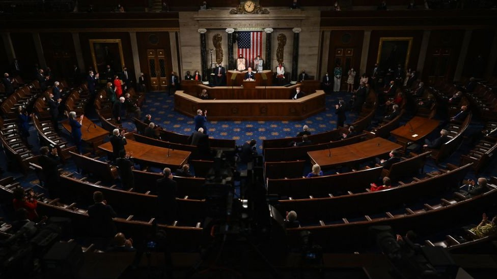 Biden addresses Congress