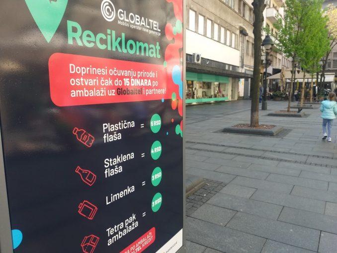 """Životna sredina i recikliranje u Srbiji: """"Reciklomati"""" pretvaraju otpad u kredit za prevoz, telefon ili donaciju 5"""