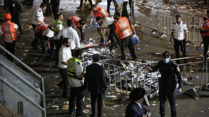 Nesreća u Izraelu: Desetine mrtvih u stampedu na verskom festivalu 4