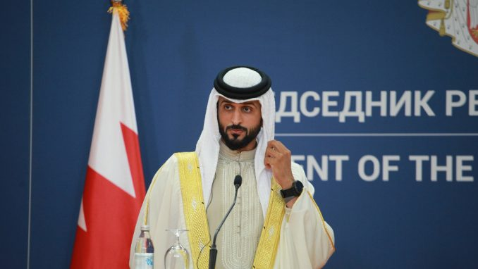 Naser bin Hamad bin Isa al Kalifa: Šeik u poseti 5