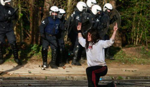 Brisel: Nemiri povodom zabrane okupljanja 3
