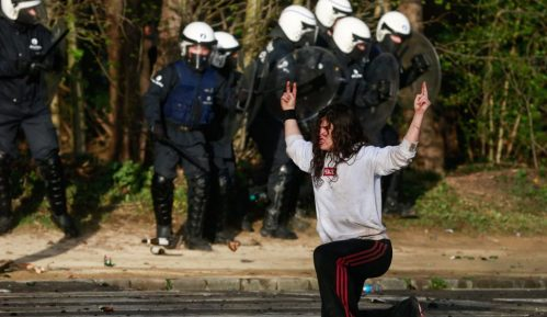 Brisel: Nemiri povodom zabrane okupljanja 7